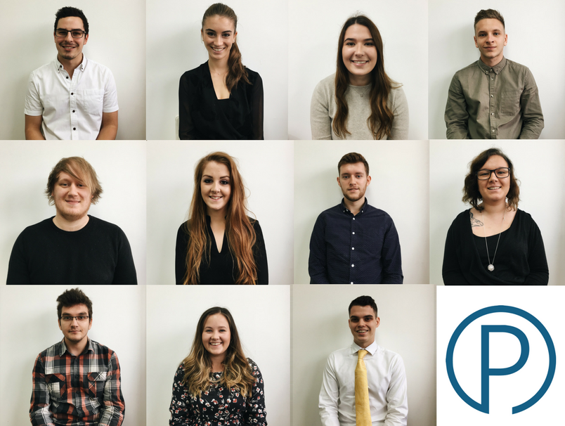 A warm welcome to our new placement students