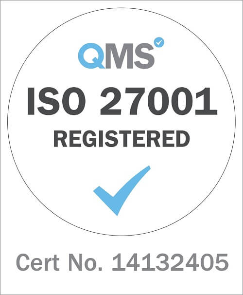 Security: Information about our ISO 270001 certification
